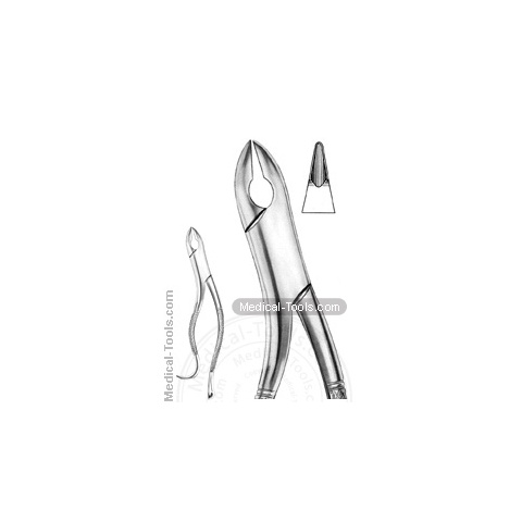 American Extracting Forceps No. 10H Nevius