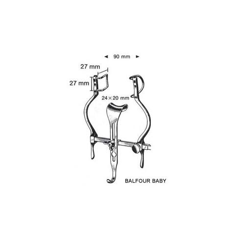 Balfour Baby Retractors 9cm