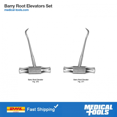 Barry Root Elevator Set