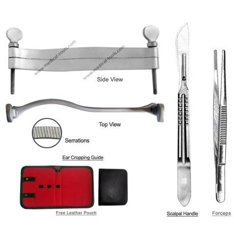 Boxer Ear Cropping Tools Kit