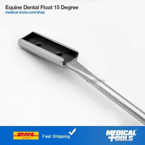 Equine Dental Float 15 Degree Up