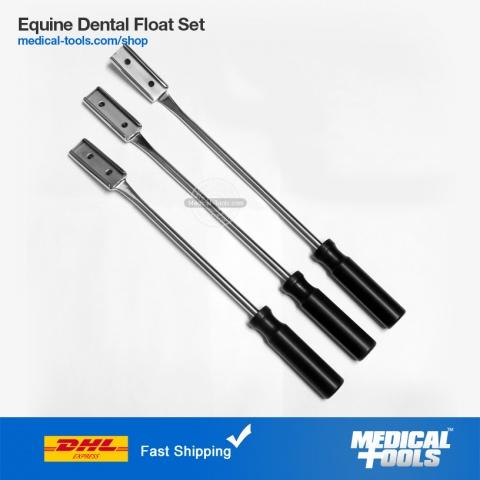 Equine Dental Float 15 Degree Down