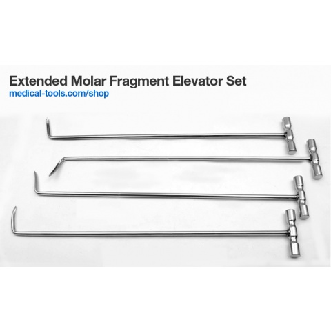Extended Incisors and Wolf Tooth Elevator Set