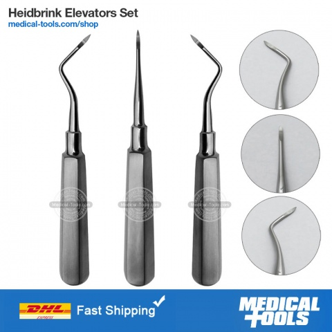 Lower Molar Extracting Forceps Set
