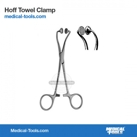 Jones Towel Clamp 9cm