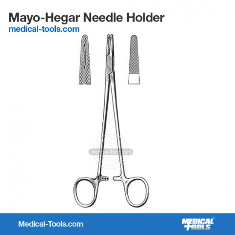 Crile-Murray Needle Holder 15cm