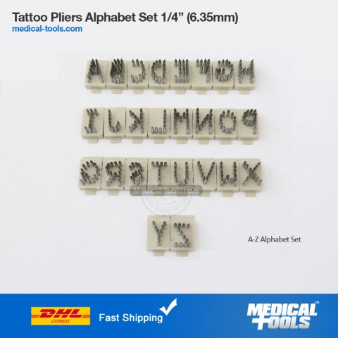 Tattoo Alphabet Set