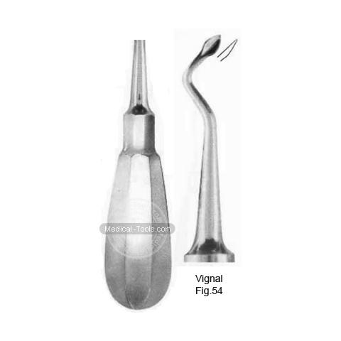 Vignal Root Elevators Fig 54