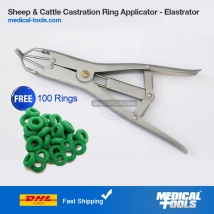 Elastrator Sheep Castration Plier with Rings Tail Cutter Castration Banding Pig