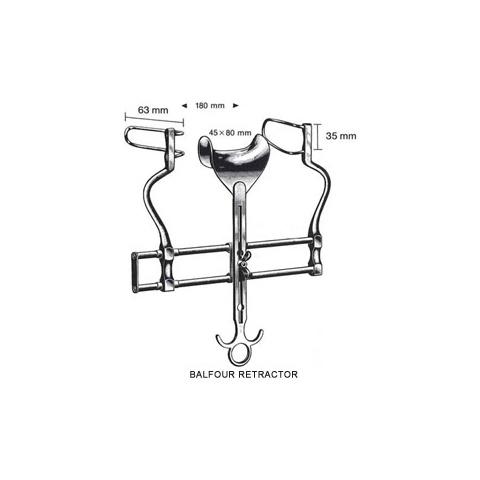 Balfour Retractors 18cm