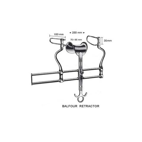 Balfour Retractors 25cm