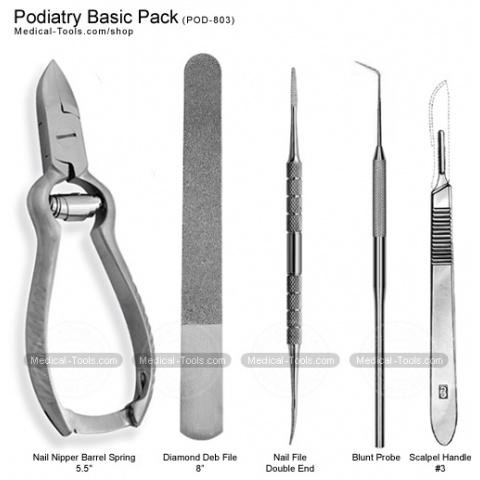 Podiatry-instruments-kit