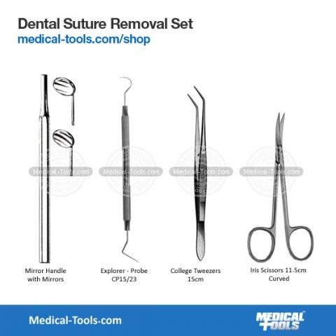 Dental Plastic  Filling Instruments Kit