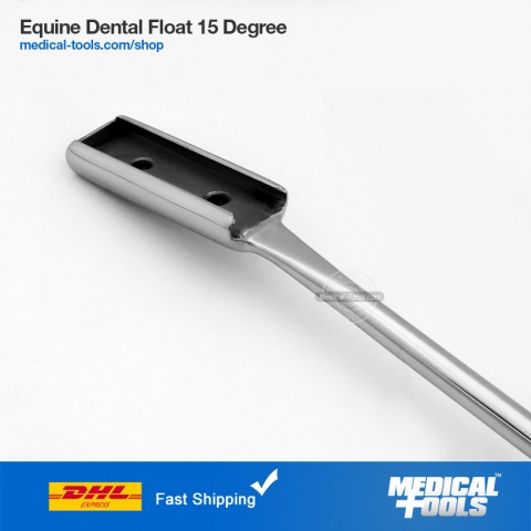 Equine Dental Float 15 Degree Up