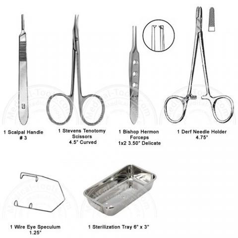 Veterinary Advance Eye Kit