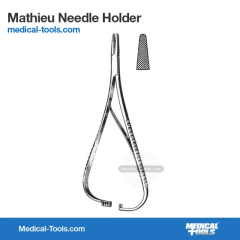 Sarot Needle Holder