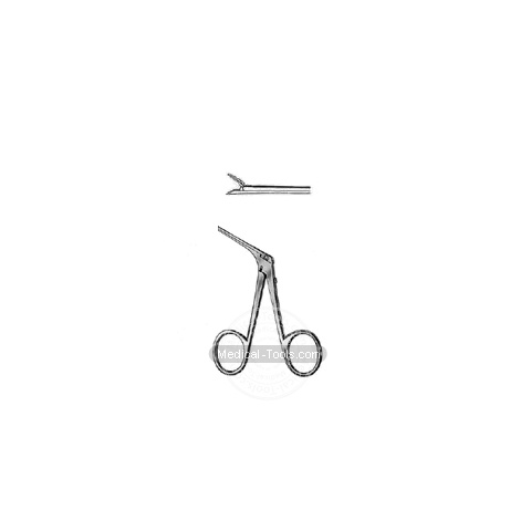 McGee Micro Ear Forceps 0.8x4.0mm