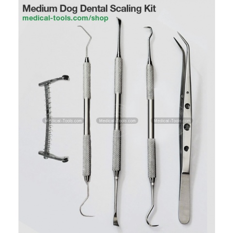 Canine Periodontal Instruments Pack
