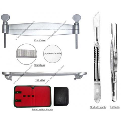 Great Dane Ear Cropping Tools Kit