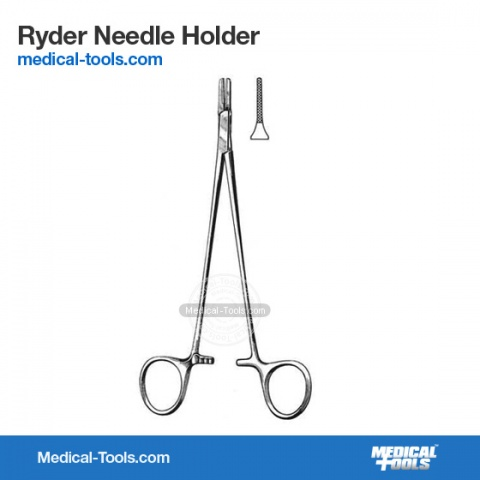 De-Bakey Needle Holder
