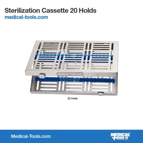 Sterilization Cassette 10 Holds