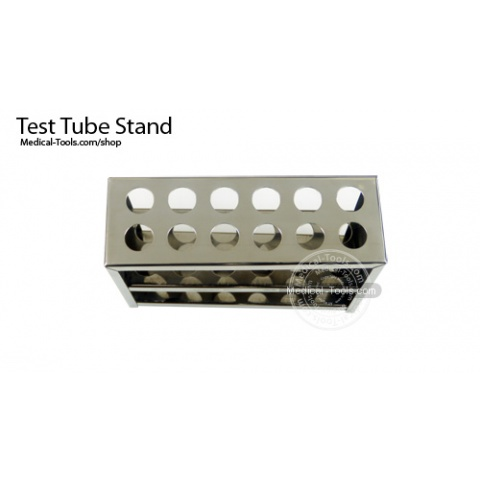 Test Tube Stand Stainless Steel